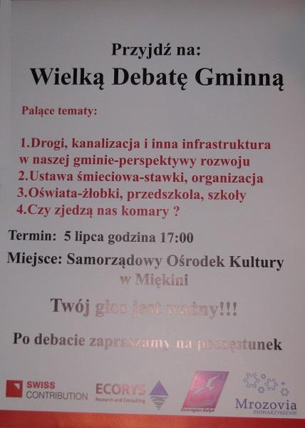 Wielka Debata Gminna